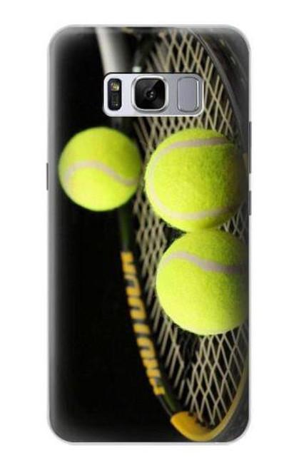 S0072 テニス Tennis Samsung Galaxy S8 バックケース、フリップケース・カバー