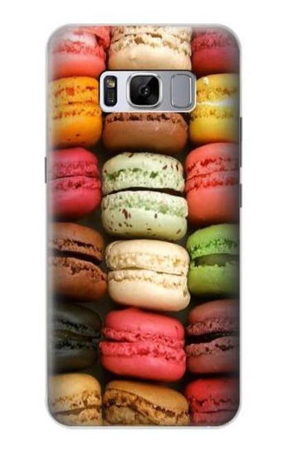 S0080 マカロン Macarons Samsung Galaxy S8 バックケース、フリップケース・カバー