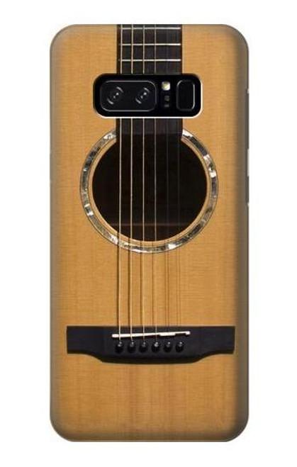 S0057 アコースティックギター Acoustic Guitar Note 8 Samsung Galaxy Note8 バックケース、フリップケース・カバー