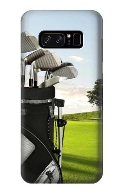 S0067 ゴルフ Golf Note 8 Samsung Galaxy Note8 バックケース、フリップケース・カバー