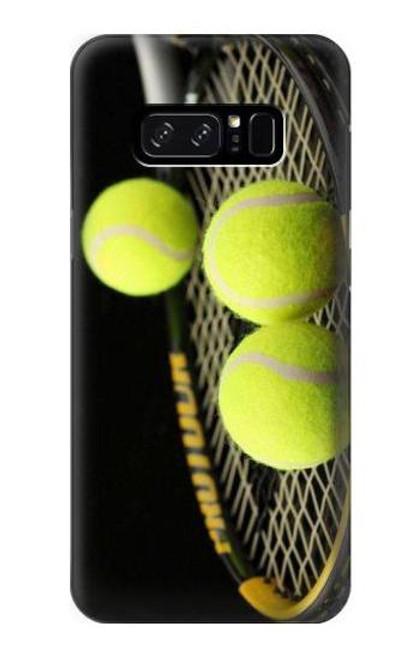S0072 テニス Tennis Note 8 Samsung Galaxy Note8 バックケース、フリップケース・カバー