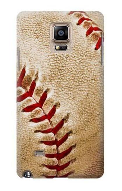 S0064 野球 ベースボール Baseball Samsung Galaxy Note 4 バックケース、フリップケース・カバー