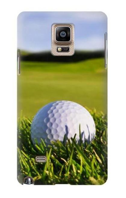 S0068 ゴルフ Golf Samsung Galaxy Note 4 バックケース、フリップケース・カバー