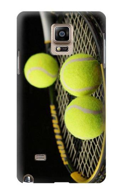 S0072 テニス Tennis Samsung Galaxy Note 4 バックケース、フリップケース・カバー