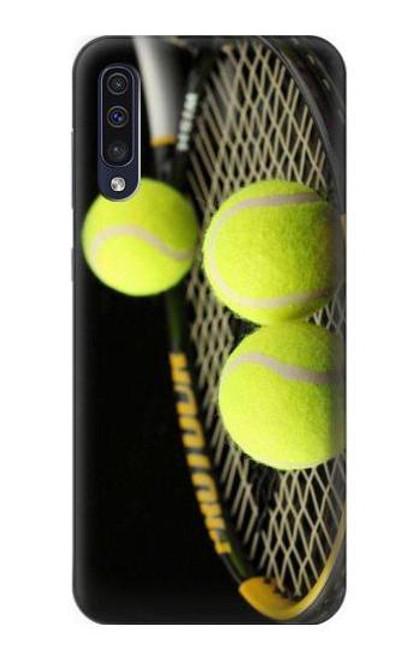 S0072 テニス Tennis Samsung Galaxy A50 バックケース、フリップケース・カバー