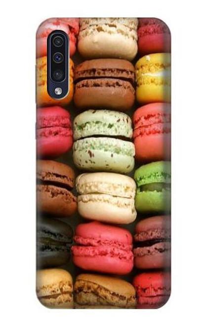 S0080 マカロン Macarons Samsung Galaxy A50 バックケース、フリップケース・カバー