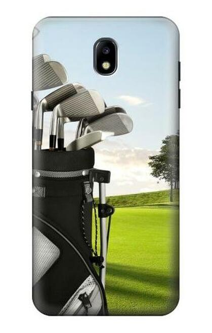 S0067 ゴルフ Golf Samsung Galaxy J7 (2018) バックケース、フリップケース・カバー