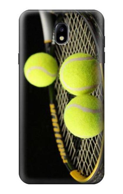 S0072 テニス Tennis Samsung Galaxy J7 (2018) バックケース、フリップケース・カバー