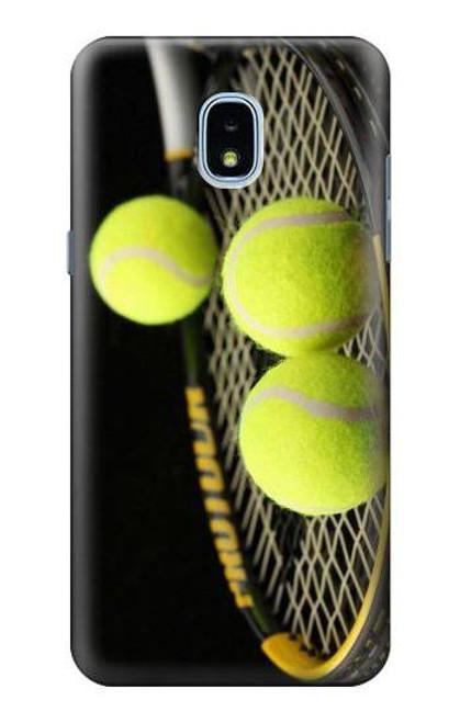 S0072 テニス Tennis Samsung Galaxy J3 (2018) バックケース、フリップケース・カバー