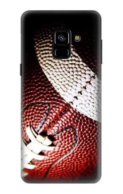 S0062 アメリカンフットボール American Football Samsung Galaxy A8 (2018) バックケース、フリップケース・カバー