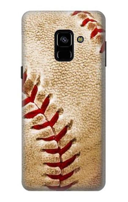 S0064 野球 ベースボール Baseball Samsung Galaxy A8 (2018) バックケース、フリップケース・カバー