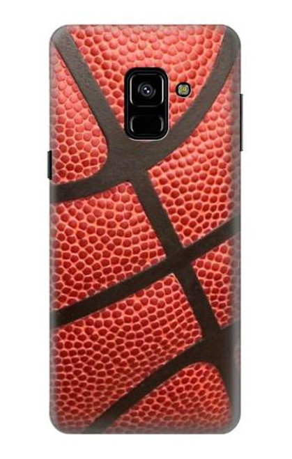 S0065 バスケットボール Basketball Samsung Galaxy A8 (2018) バックケース、フリップケース・カバー
