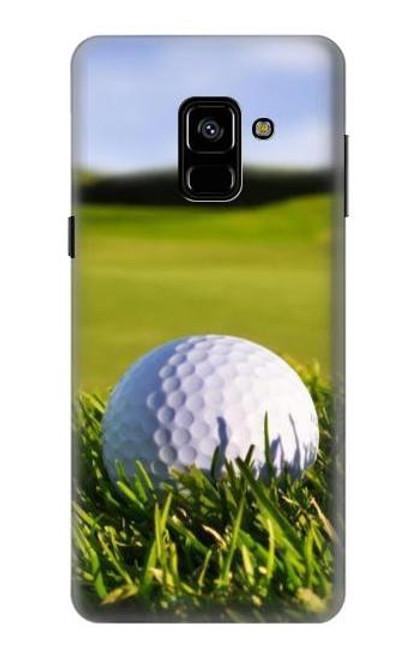 S0068 ゴルフ Golf Samsung Galaxy A8 (2018) バックケース、フリップケース・カバー