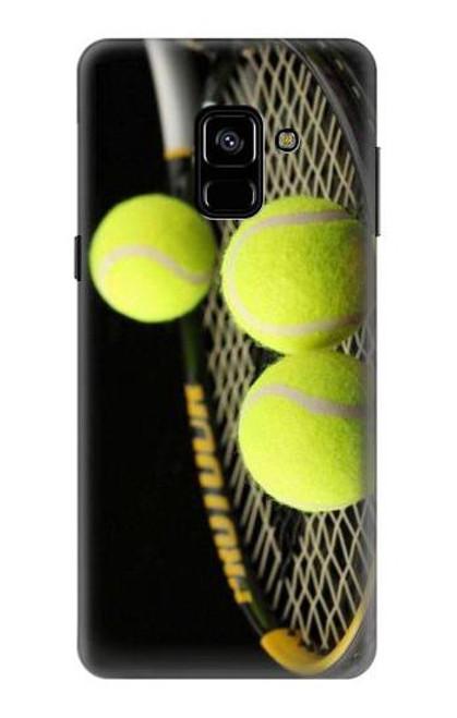 S0072 テニス Tennis Samsung Galaxy A8 (2018) バックケース、フリップケース・カバー