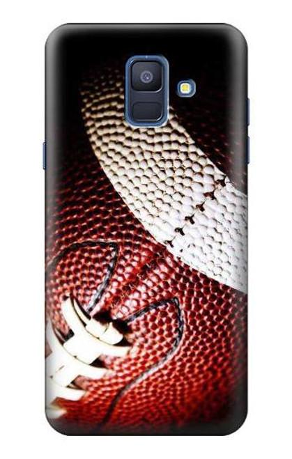 S0062 アメリカンフットボール American Football Samsung Galaxy A6 (2018) バックケース、フリップケース・カバー
