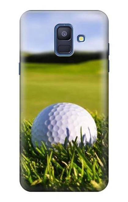 S0068 ゴルフ Golf Samsung Galaxy A6 (2018) バックケース、フリップケース・カバー