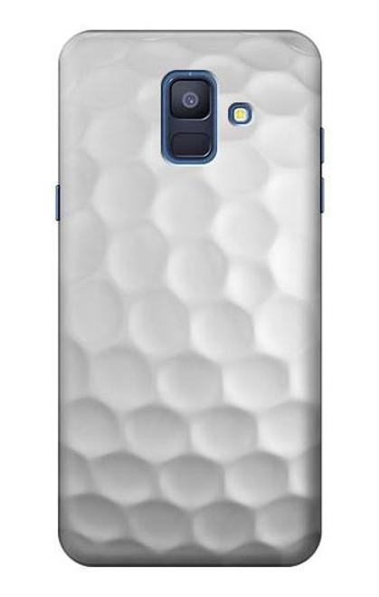 S0071 ゴルフボール Golf Ball Samsung Galaxy A6 (2018) バックケース、フリップケース・カバー