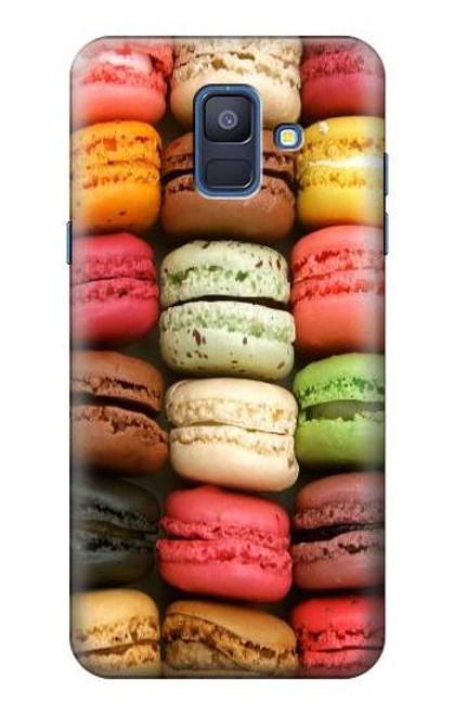 S0080 マカロン Macarons Samsung Galaxy A6 (2018) バックケース、フリップケース・カバー
