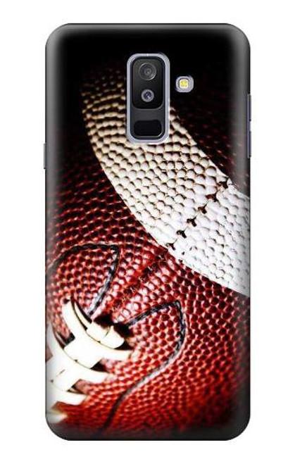 S0062 アメリカンフットボール American Football Samsung Galaxy A6+ (2018), J8 Plus 2018, A6 Plus 2018  バックケース、フリップケース・カバー