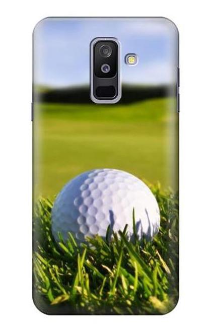 S0068 ゴルフ Golf Samsung Galaxy A6+ (2018), J8 Plus 2018, A6 Plus 2018  バックケース、フリップケース・カバー