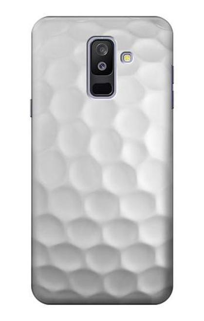 S0071 ゴルフボール Golf Ball Samsung Galaxy A6+ (2018), J8 Plus 2018, A6 Plus 2018  バックケース、フリップケース・カバー