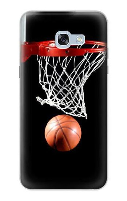 S0066 バスケットボール Basketball Samsung Galaxy A5 (2017) バックケース、フリップケース・カバー