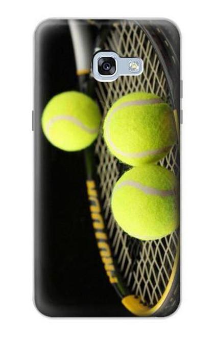 S0072 テニス Tennis Samsung Galaxy A5 (2017) バックケース、フリップケース・カバー