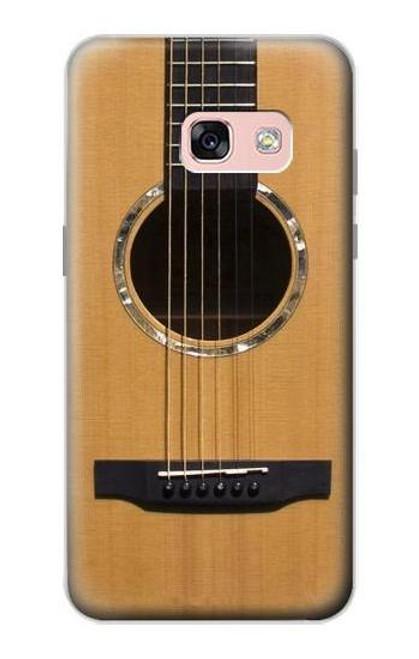 S0057 アコースティックギター Acoustic Guitar Samsung Galaxy A3 (2017) バックケース、フリップケース・カバー