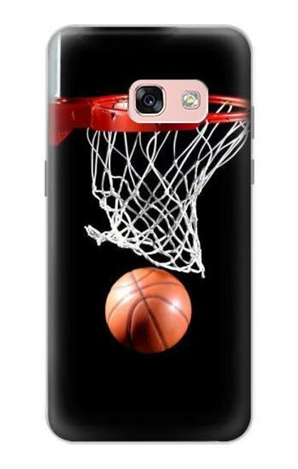 S0066 バスケットボール Basketball Samsung Galaxy A3 (2017) バックケース、フリップケース・カバー