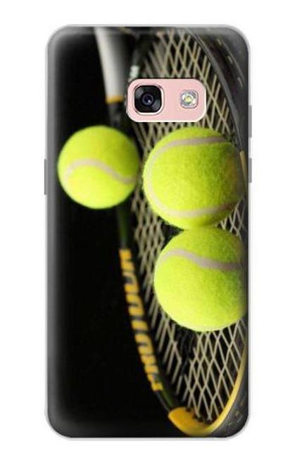 S0072 テニス Tennis Samsung Galaxy A3 (2017) バックケース、フリップケース・カバー