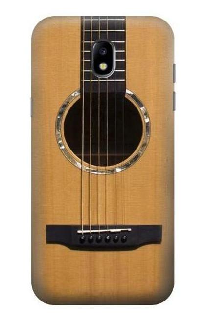 S0057 アコースティックギター Acoustic Guitar Samsung Galaxy J5 (2017) EU Version バックケース、フリップケース・カバー