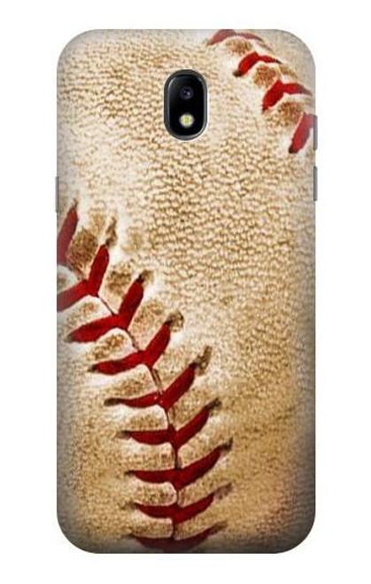 S0064 野球 ベースボール Baseball Samsung Galaxy J5 (2017) EU Version バックケース、フリップケース・カバー