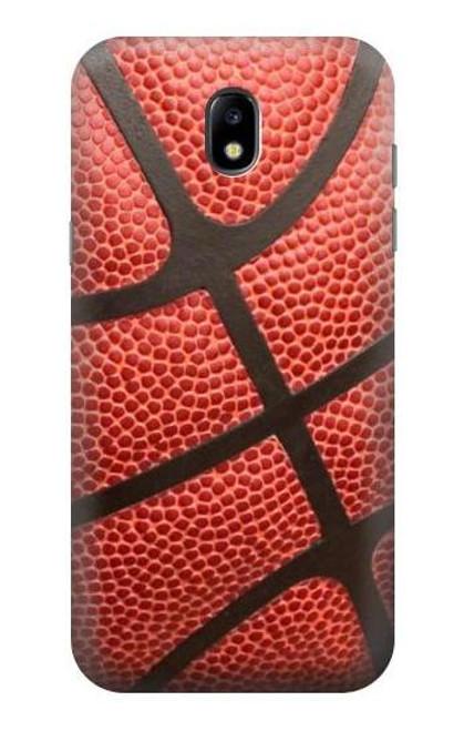 S0065 バスケットボール Basketball Samsung Galaxy J5 (2017) EU Version バックケース、フリップケース・カバー