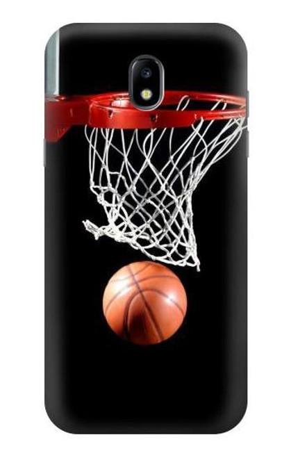 S0066 バスケットボール Basketball Samsung Galaxy J5 (2017) EU Version バックケース、フリップケース・カバー