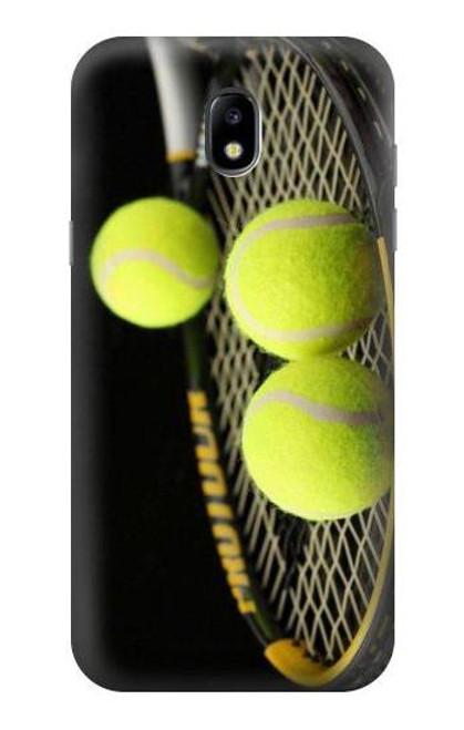 S0072 テニス Tennis Samsung Galaxy J5 (2017) EU Version バックケース、フリップケース・カバー