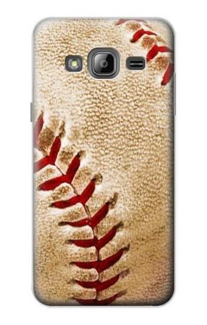 S0064 野球 ベースボール Baseball Samsung Galaxy J3 (2016) バックケース、フリップケース・カバー