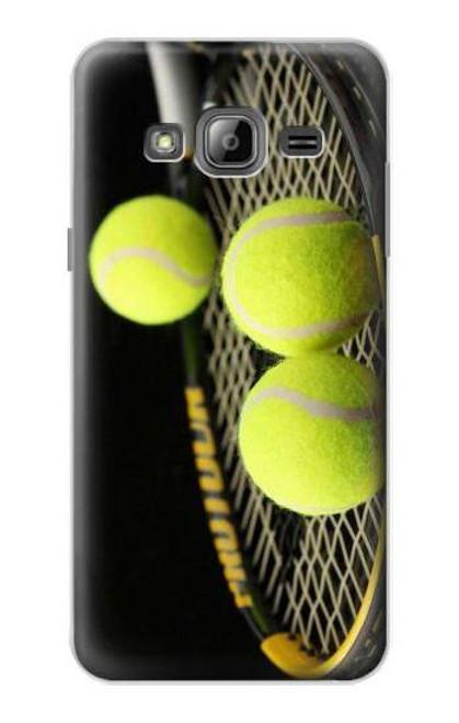 S0072 テニス Tennis Samsung Galaxy J3 (2016) バックケース、フリップケース・カバー