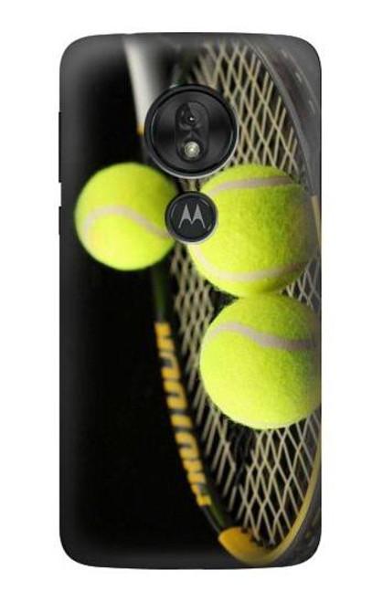 S0072 テニス Tennis Motorola Moto G7 Play バックケース、フリップケース・カバー