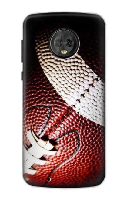 S0062 アメリカンフットボール American Football Motorola Moto G6 バックケース、フリップケース・カバー