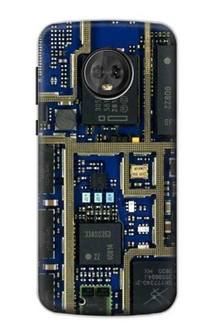 S0063 回路基板 Curcuid Board Motorola Moto G6 バックケース、フリップケース・カバー