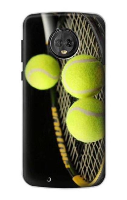 S0072 テニス Tennis Motorola Moto G6 バックケース、フリップケース・カバー