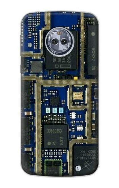 S0063 回路基板 Curcuid Board Motorola Moto X4 バックケース、フリップケース・カバー