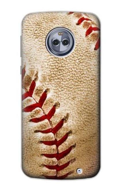 S0064 野球 ベースボール Baseball Motorola Moto X4 バックケース、フリップケース・カバー