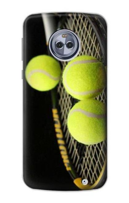 S0072 テニス Tennis Motorola Moto X4 バックケース、フリップケース・カバー