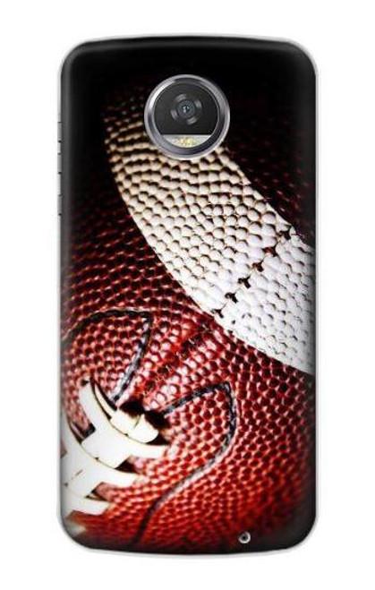 S0062 アメリカンフットボール American Football Motorola Moto Z2 Play, Z2 Force バックケース、フリップケース・カバー