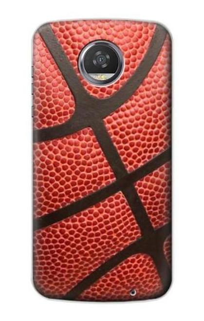 S0065 バスケットボール Basketball Motorola Moto Z2 Play, Z2 Force バックケース、フリップケース・カバー
