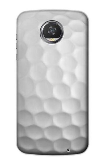 S0071 ゴルフボール Golf Ball Motorola Moto Z2 Play, Z2 Force バックケース、フリップケース・カバー