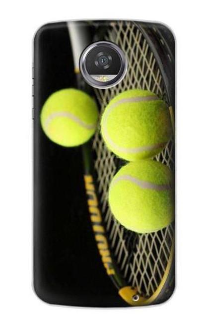 S0072 テニス Tennis Motorola Moto Z2 Play, Z2 Force バックケース、フリップケース・カバー