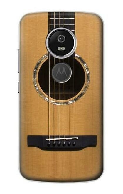 S0057 アコースティックギター Acoustic Guitar Motorola Moto E5 Plus バックケース、フリップケース・カバー