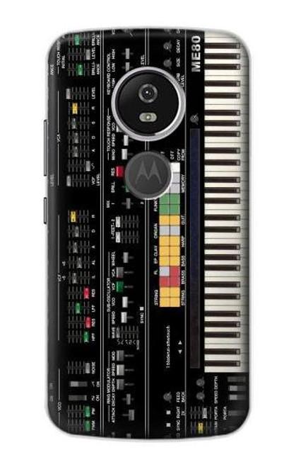 S0061 シンセサイザー Synthesizer Motorola Moto E5 Plus バックケース、フリップケース・カバー